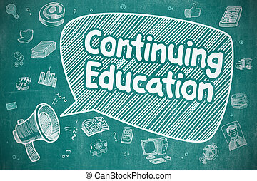 Continuing Education - Business Concept.