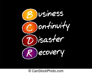 continuità, disastro, recupero, -, bcdr, affari