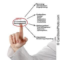 continuité, gestion, il