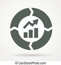 continuous improvement cycle icon - Continuous improvement...
