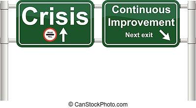 Continuous improvement signal vecto - Continuous improvement...