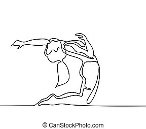 yoga exercise woman in pigeon pose yoga exercise a