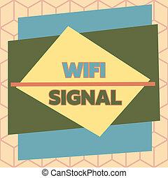 contorno, conexiones, proporcionar, wifi, radio, desigual, multicolor, formato, highspeed, texto, foto, formado, señal, asimétrico, design., red, signal., actuación, objeto, patrón, internet, conceptual