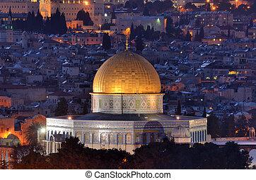 contorno, jerusalén