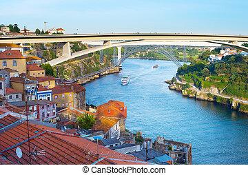 contorno, porto, infante, henrique, puente