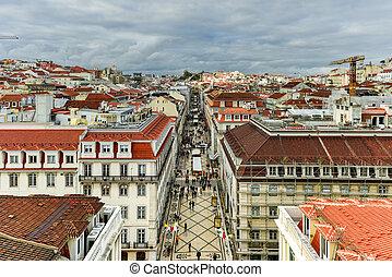 contorno, -, portugal, lisboa