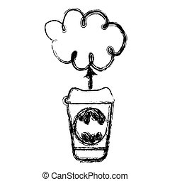 contour coffee online clound icon