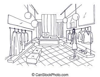 Vecteur mode dessin illustration mode habillement for Architecture symbolique