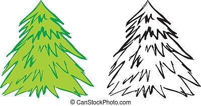 Contour fir