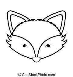 Aninimal Book: Fox face Illustrations and Stock Art. 2,386 Fox face ...