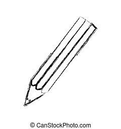 contour pencil color icon