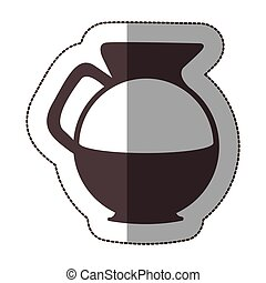 contour water pitcher icon