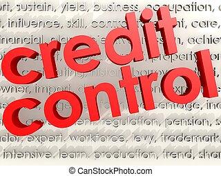 contrôle, crédit