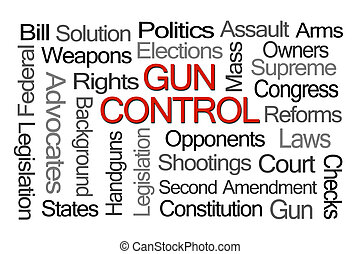 contrôle, mot, fusil, nuage, lois