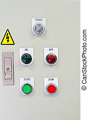 contrôle, panel.