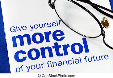 contrôle, personnel, prendre, finance