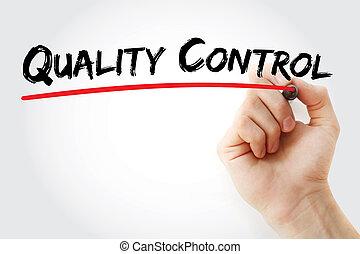 contrôle, -, qc, qualité, acronyme