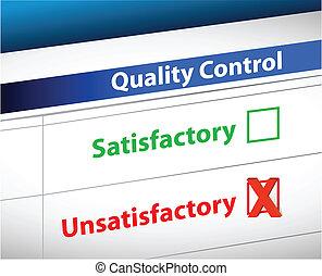 contrôle, qualité, paperasserie, résultats, business