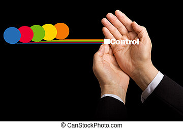 contrôle, ressource, business, -, cout, valeurs, conscience
