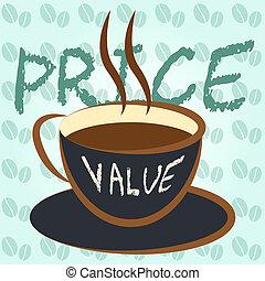 contra, financiero, contra, precio, -, valor, el comparar, ...