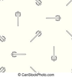 Contraception tool pattern seamless vector