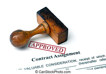 Contract assignment