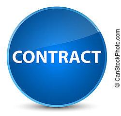 Contract elegant blue round button