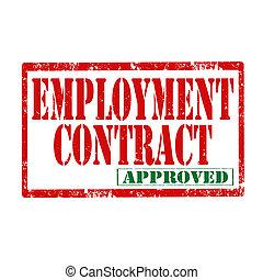 contract-stamp, занятость