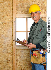 Contractor with Clipboard
