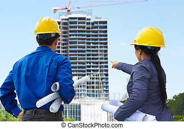 Contractors and building projects