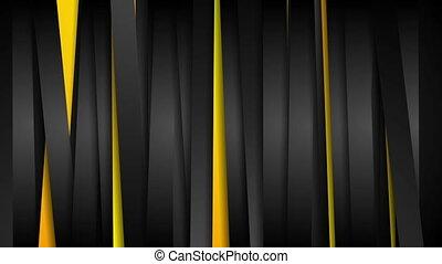 Contrast orange and black stripes video animation - Contrast...