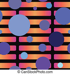 Contrasting Seamless Pattern
