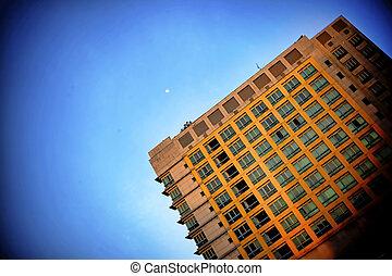 urban cityscape buildings