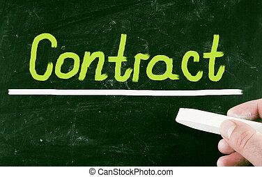 contrat, concept