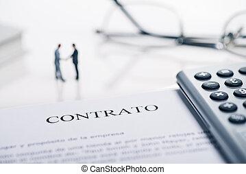 contrat, conclusion