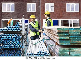 contratistas de edificio