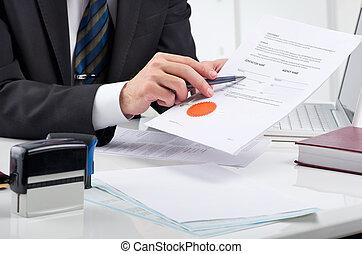 contrato de firma