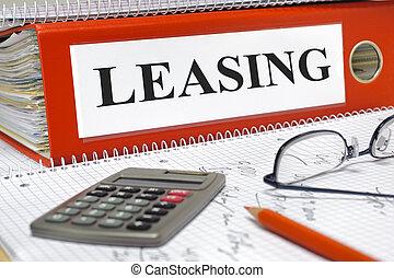 contratos, carpeta, alquiler con opción a compra