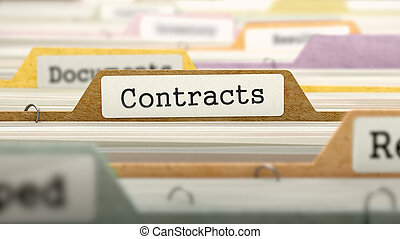 contrats, label., concept, fichier
