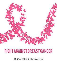 contro, cancro seno, lotta