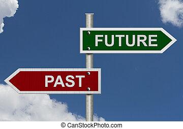 contro, passato, futuro