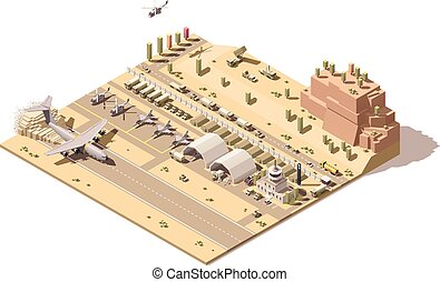 control, blindado, poly, infographic, avión, estructuras, ...