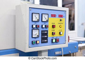 control center drying machine