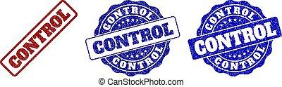 CONTROL Grunge Stamp Seals - CONTROL grunge stamp seals in...