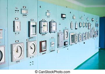 control, instrumentación, panel