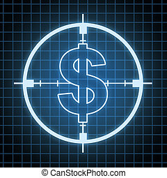 Control on Spending and savings concept and hunting for...