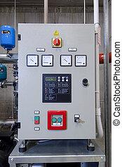 Control Panel - A control panel in a control center