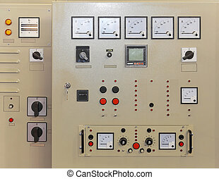 Control panel board - Electrical power control panel board...