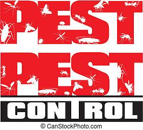 control peste, -, insectos