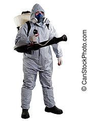 control, peste, trabajador
